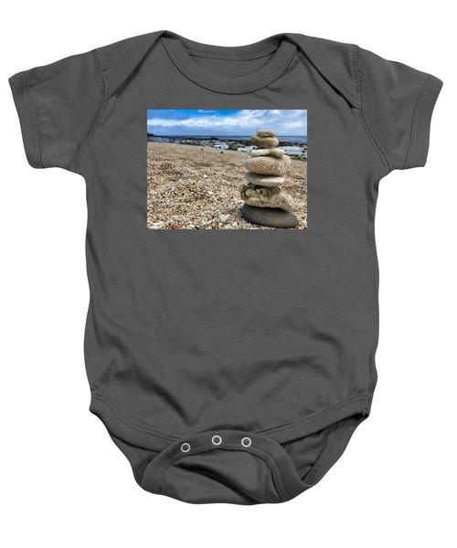Beach Zen Baby Onesie