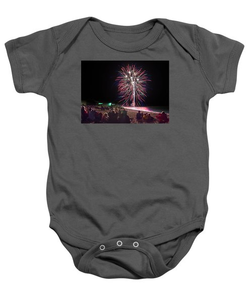 Baby Onesie featuring the photograph Beachside Spectacular by Bill Pevlor