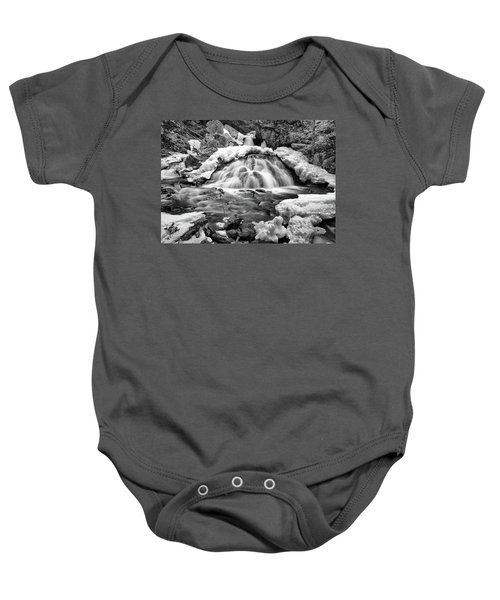 Bear's Den Waterfall Baby Onesie