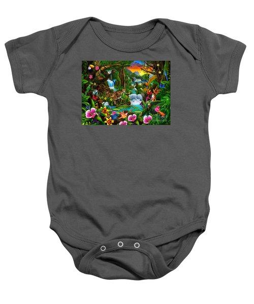 Beautiful Rainforest Baby Onesie