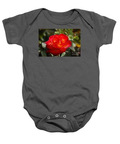 Beautiful Rose Baby Onesie
