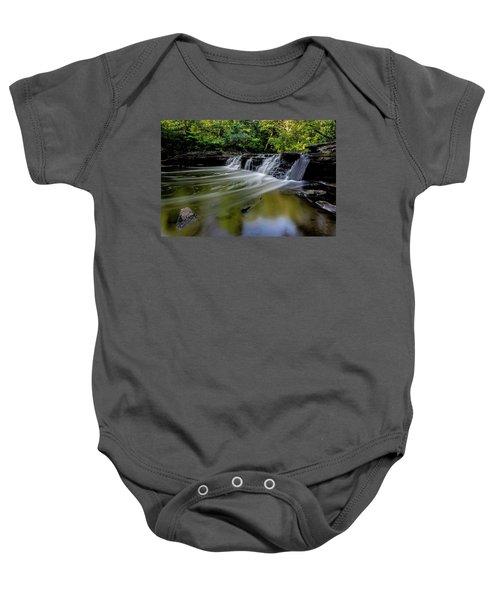 Beautiful Waterfall Baby Onesie