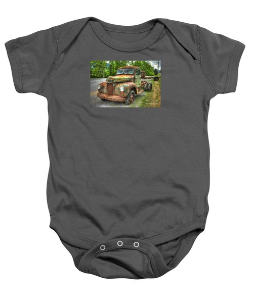 Beauty And The Best 1947 International Harvester Kb 5 Truck Baby Onesie