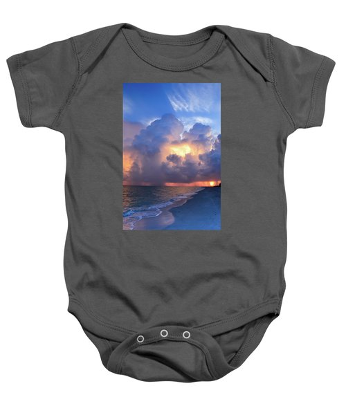 Beauty In The Darkest Skies II Baby Onesie