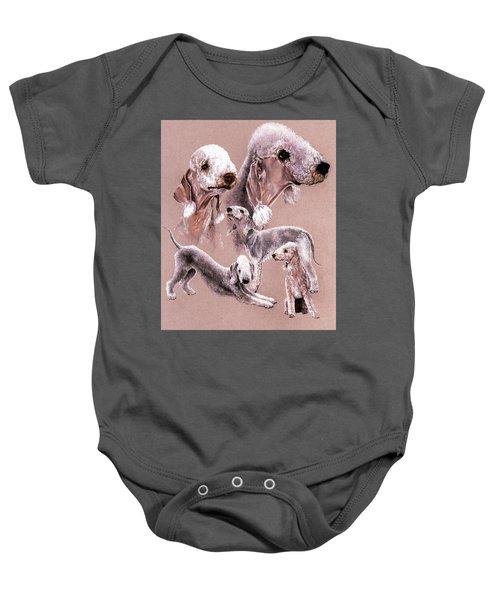 Bedlington Terrier Baby Onesie