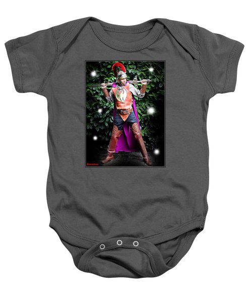 Beguiled By Fairy Lights Baby Onesie