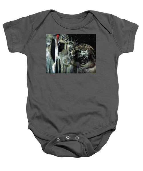 Beneath The Mask Baby Onesie