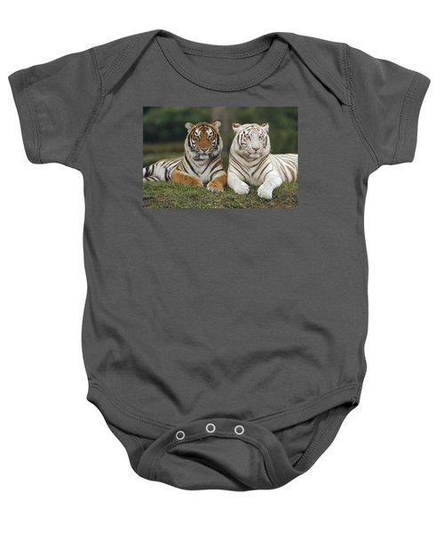 Bengal Tiger Team Baby Onesie