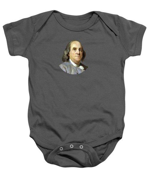 Benjamin Franklin Baby Onesie