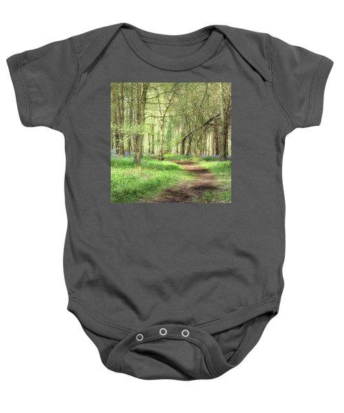 Bentley Woods, Warwickshire #landscape Baby Onesie