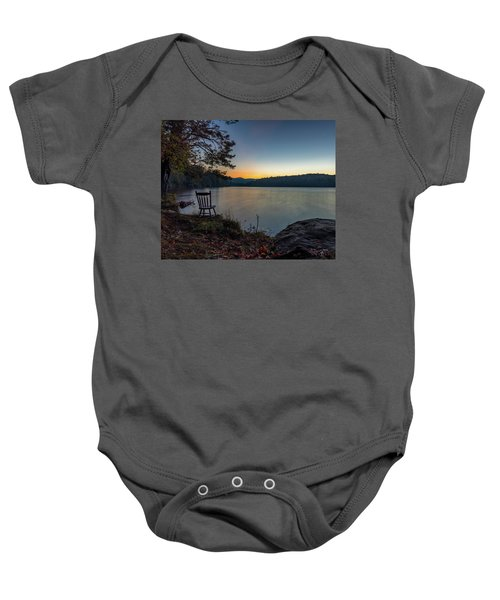 Best Seat In The House Baby Onesie