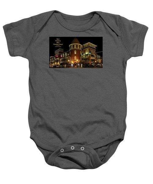 Best Western Plus Windsor Hotel - Christmas Baby Onesie
