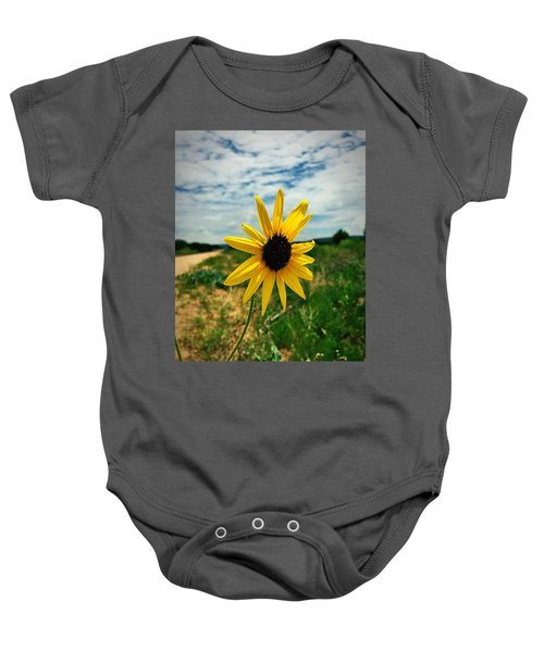 Between Heaven And Earth Baby Onesie