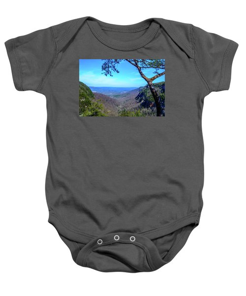 Between The Cliffs Baby Onesie