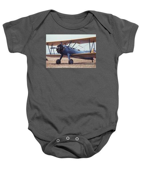 Bi-wing-8 Baby Onesie