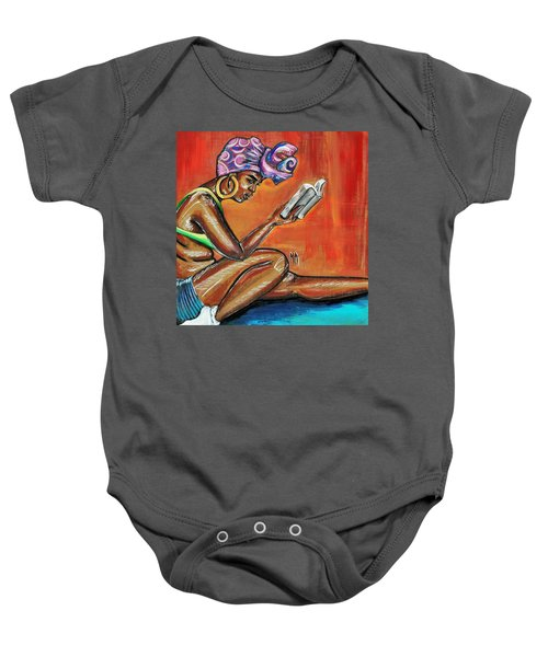 Bible Reading Baby Onesie