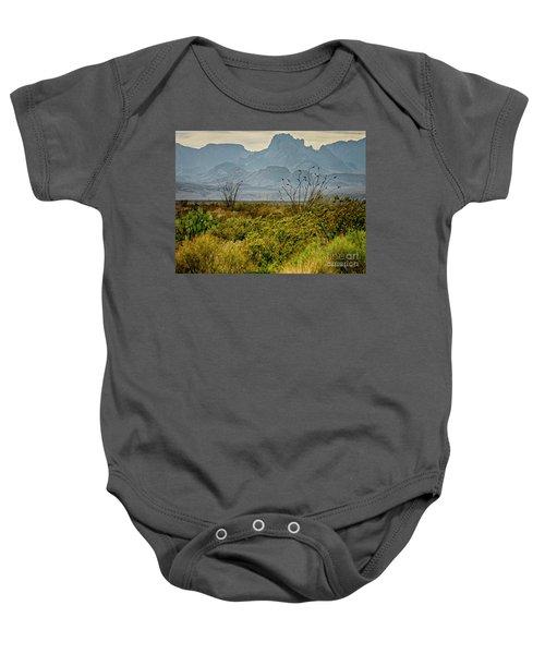 Big Bend Mountains Baby Onesie