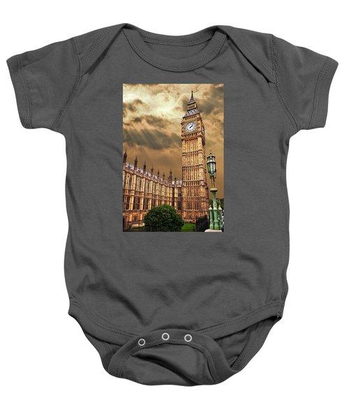Big Ben's House Baby Onesie