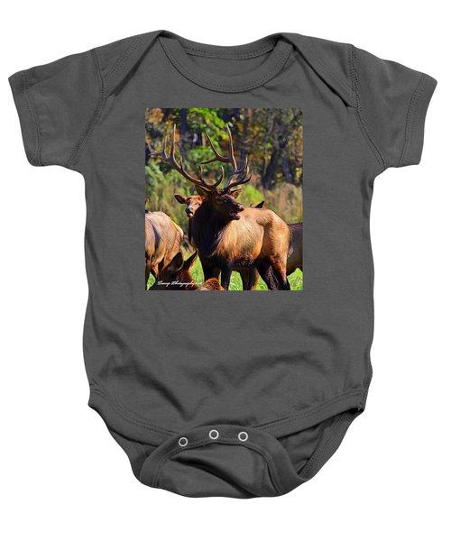 Big Elk Baby Onesie
