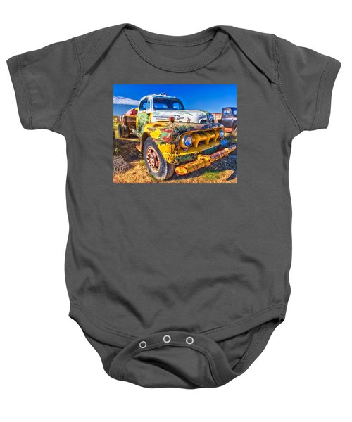 Big Job - Wide Baby Onesie