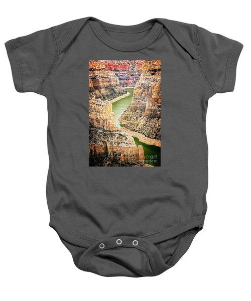 Bighorn River Baby Onesie