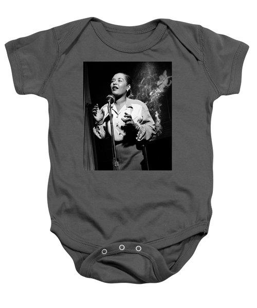 Billie Holiday  New York City Circa 1948 Baby Onesie