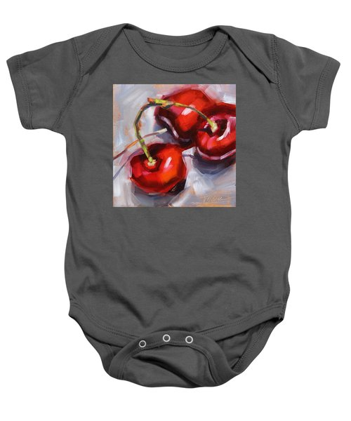 Bing Cherries Baby Onesie