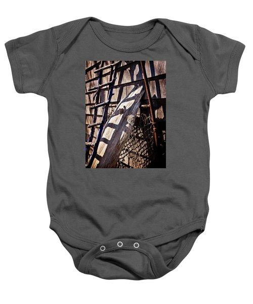 Bird Barn Details Baby Onesie
