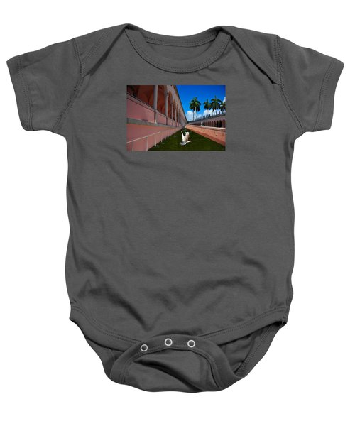 Bird In Flight Baby Onesie