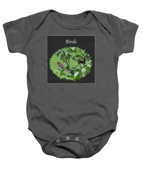Birds Baby Onesie by Jan M Holden