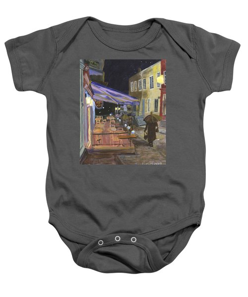 Bistro Sous Le Fort Baby Onesie