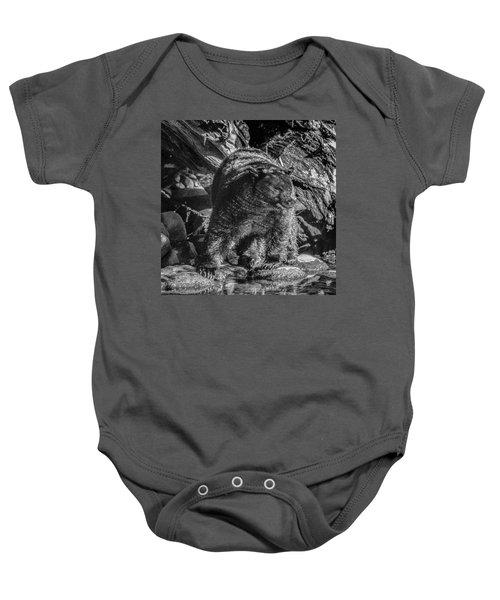 Black Bear Creekside Baby Onesie