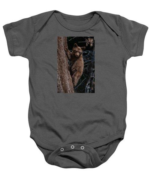 Black Bear Cub Sequoia National Park Baby Onesie