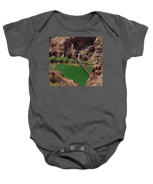 Black Bridge, Grand Canyon  Baby Onesie