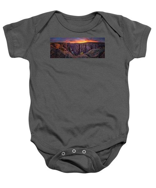 Black Canyon Of The Gunnison Baby Onesie