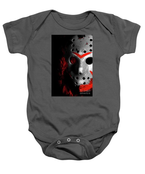 Black Friday The 13th  Baby Onesie