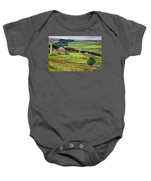 Blanchland Moor Pumphouse Baby Onesie