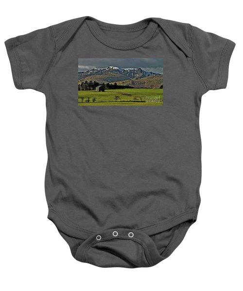 Blencathra Mountain, Lake District Baby Onesie