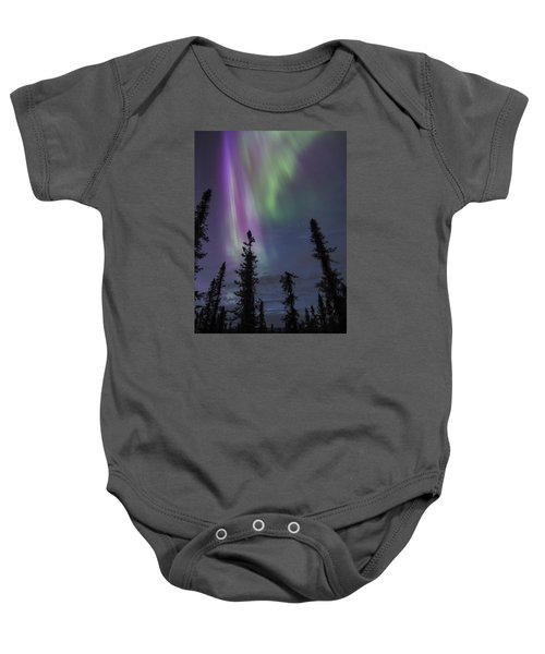 Blended With Green Baby Onesie