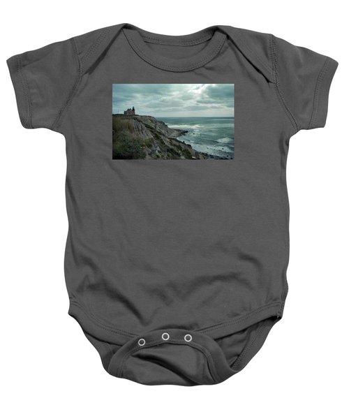Block Island South East Lighthouse Baby Onesie