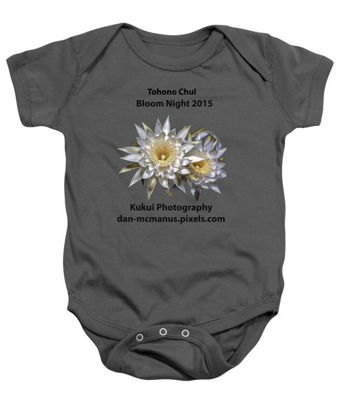 Bloom Night T Shirt Baby Onesie