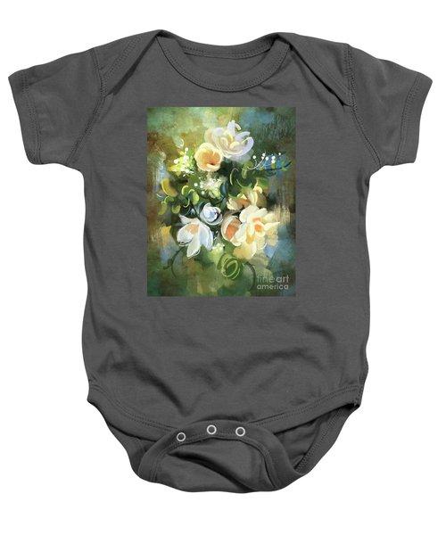 Blooming Baby Onesie