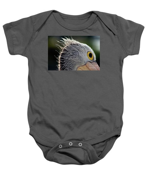 Baby Onesie featuring the photograph Blowin' In The Wind by Stephen Mitchell