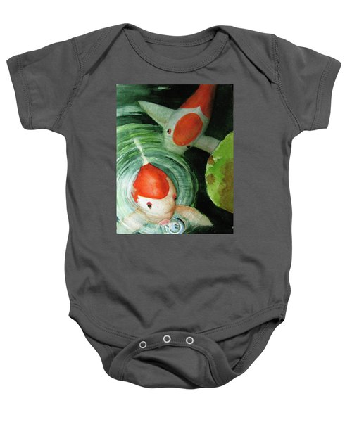 Blowing Bubbles Baby Onesie