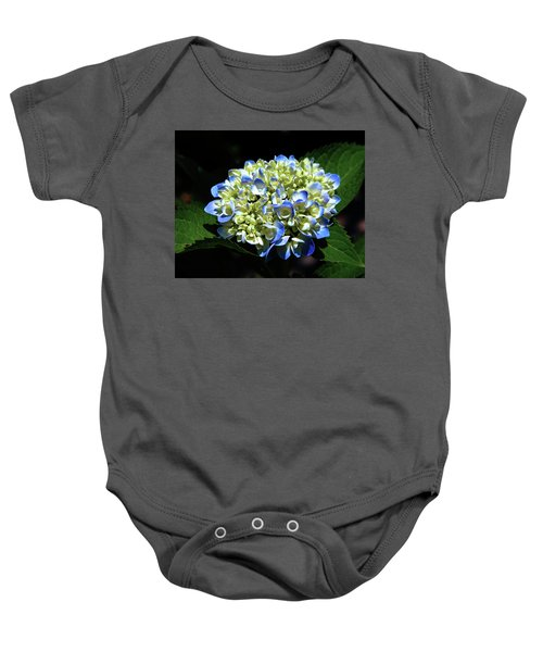 Blue Hydrangea Onstage 2620 H_2 Baby Onesie