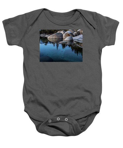 Blue Reflections Baby Onesie
