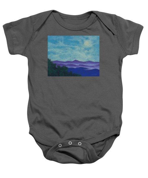 Blue Ridges Mist 1 Baby Onesie