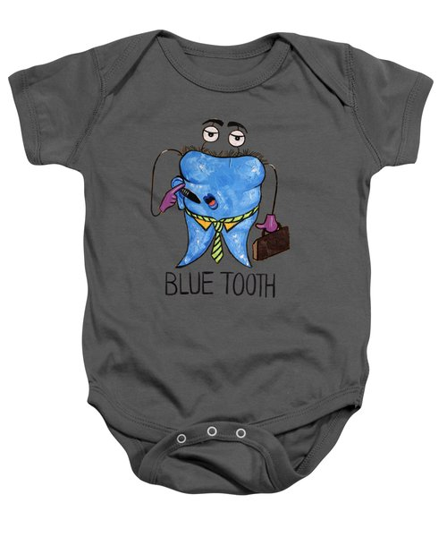 Blue Tooth Baby Onesie