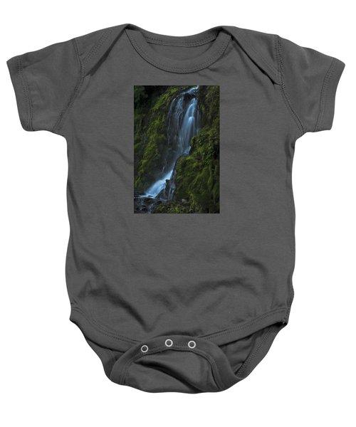 Blue Waterfall Baby Onesie