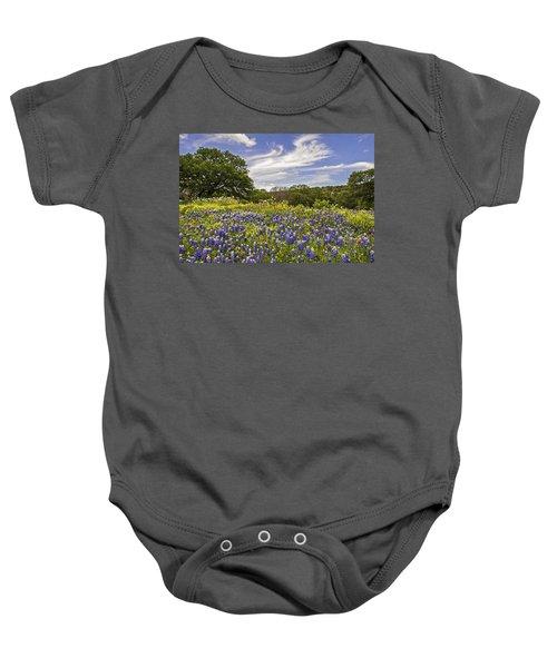 Bluebonnet Spring Baby Onesie